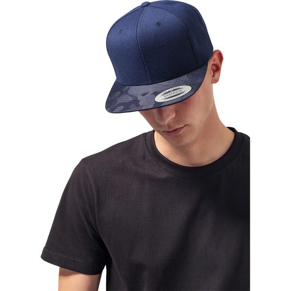 Camo Visor Snapback-Cap FLEXFIT®