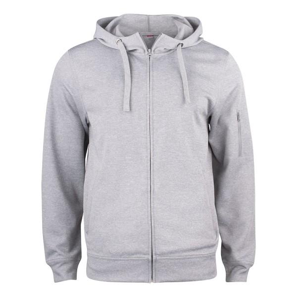 Men Basic Active Hoody Full Zip Clique®