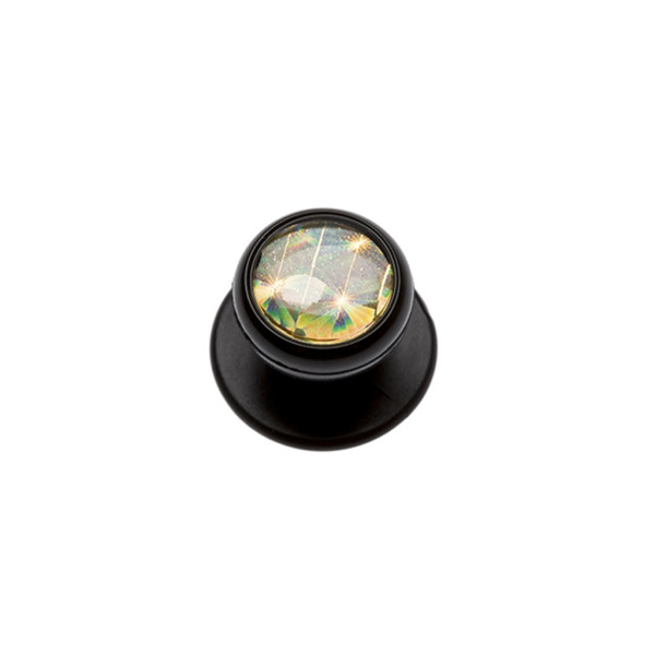 Ball knobs black gold in 12-pack Karlowsky®