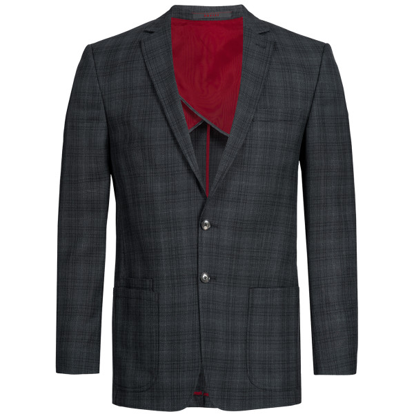 Men's Jacket RF Casual Black Checkered Greiff®