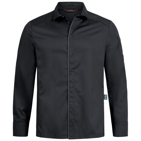 Men's chef's shirt RF Cuisine Premium with snap fasteners Greiff®