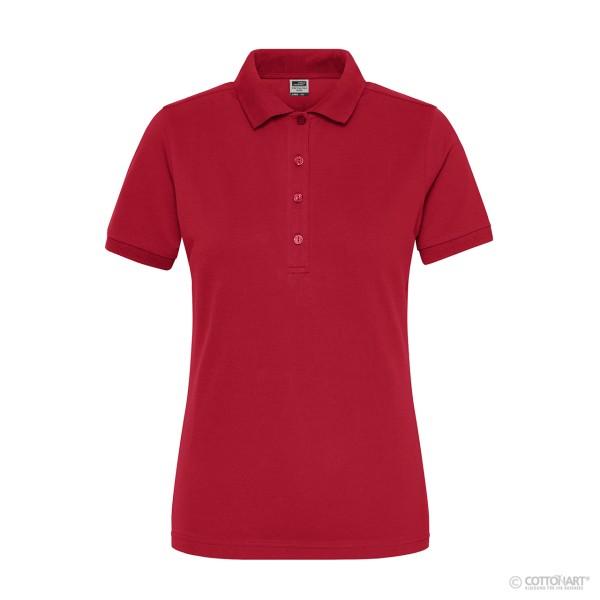 Damen Bio Workwear Polo Stretch James & Nicholson®