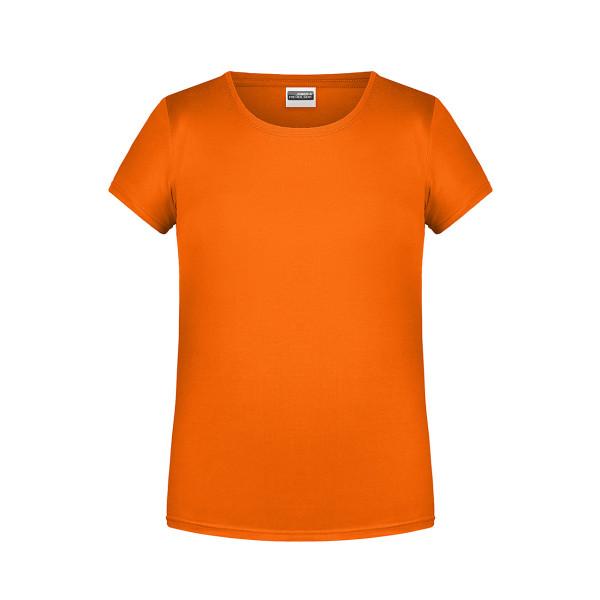 Girly T-Shirt Bio-Baumwolle James & Nicholson®
