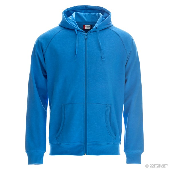 Hooded sweat jacket for men Loris Clique®