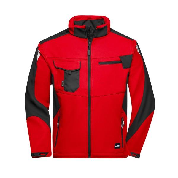 Unisex Workwear Softshell Jacke Strong James & Nicholson®