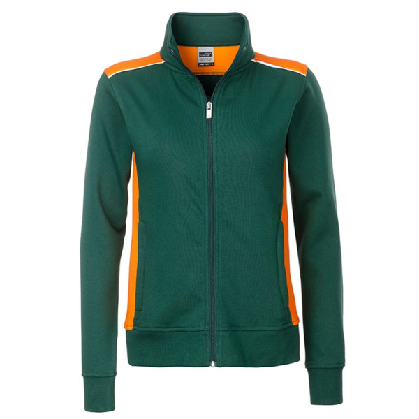 Herren Workwear Sweat Jacket James & Nicholson®