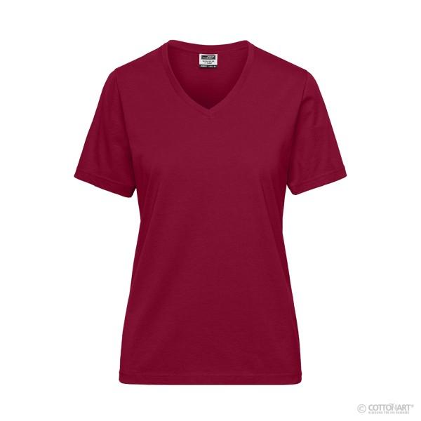 Damen BIO Workwear-Shirt James & Nicholson®