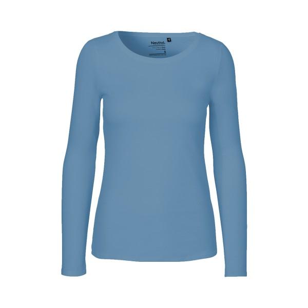 Organic Fairtrade Damen Langarm T-Shirt Neutral®