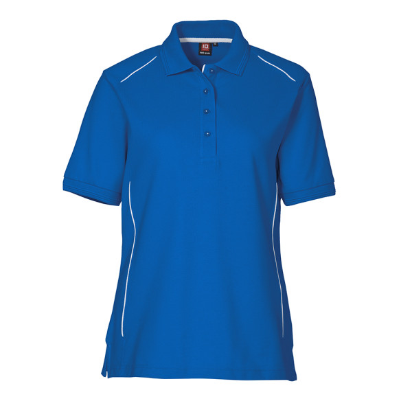 Women's Work Polo Shirt with piping ID Identity®