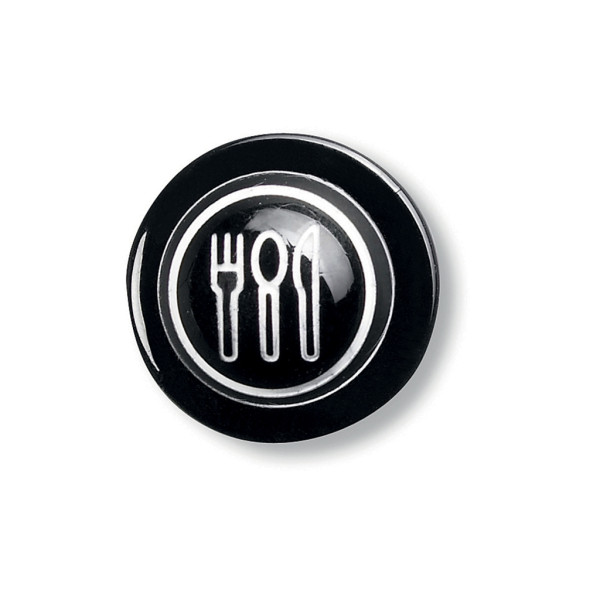 Ball knobs black with cutlery 12 pack Greiff®