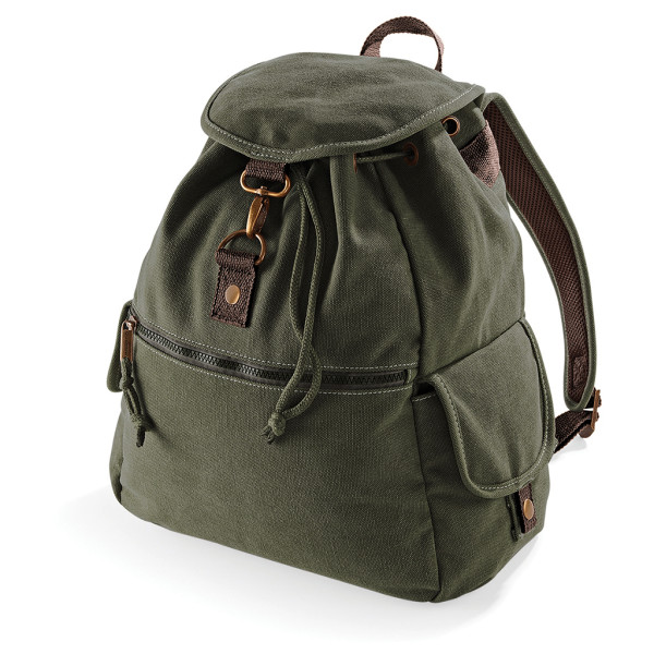 Vintage Canvas Backpack Quadra®