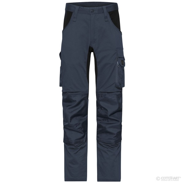 Unisex Stretch Workwear Pants James & Nicholson®