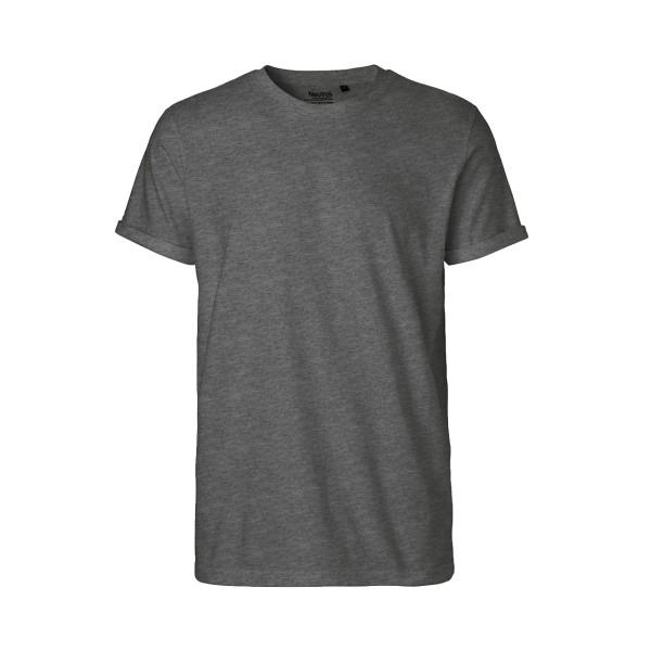 Organic Fairtrade Men`s Roll Up Sleeve T-Shirt Neutral®