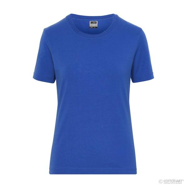 Women's Stretch T-Shirt Organic Cotton James & Nicholson®