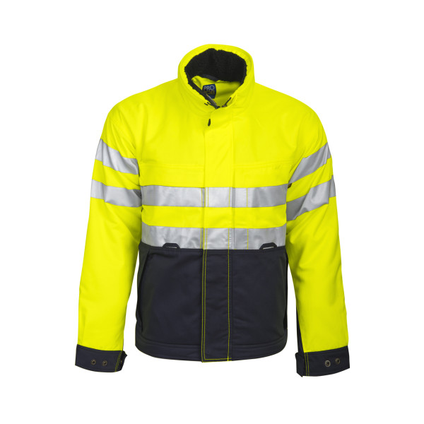 Warning protection Safety functional jacket lined Projob®