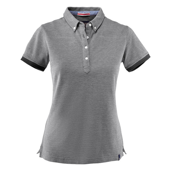 Damen Pique Poloshirt Larkford James Harvest®