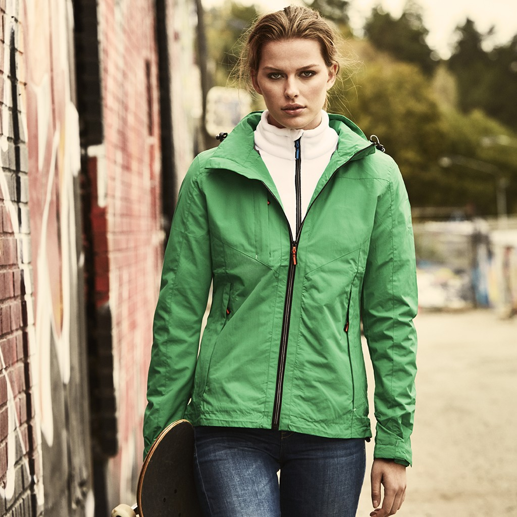Damen Outdoorjacke Flat Track Printer®
