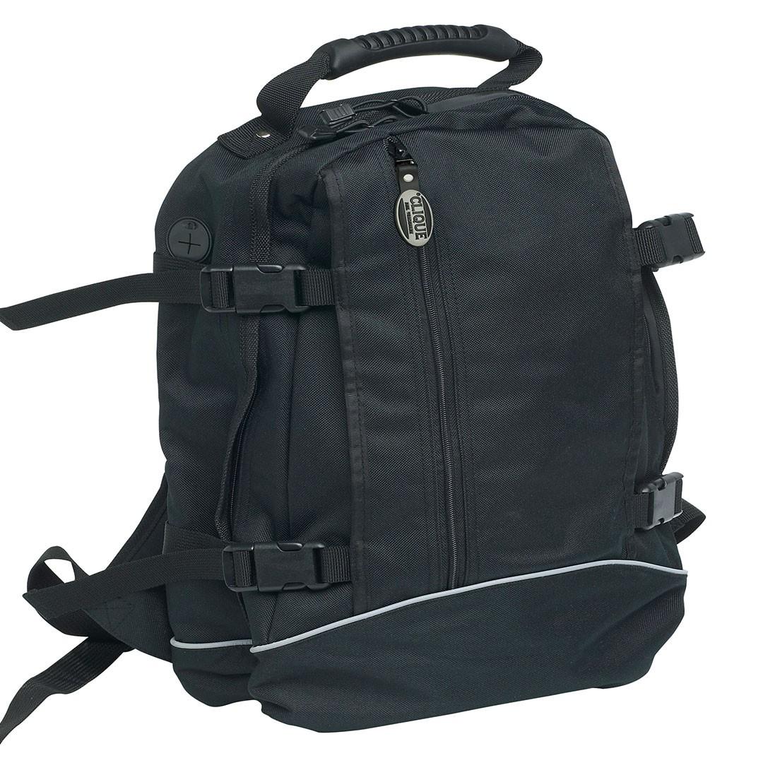 Backpack II Clique® | bedrucken, besticken, bedrucken lassen, besticken lassen, mit Logo |