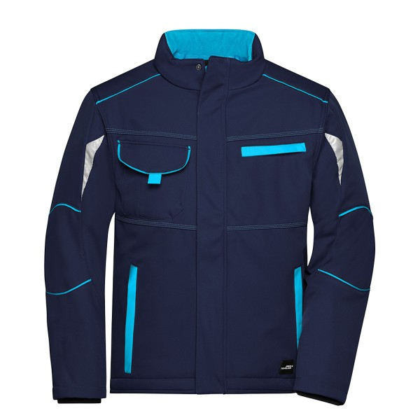 Unisex Winter Workwear Softshell Jacke James & Nicholson®