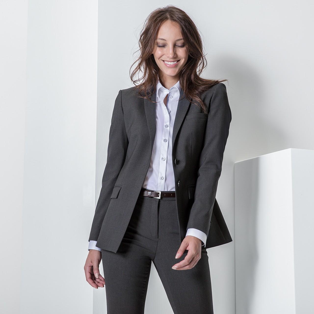 Premium Damen-Langblazer Greiff® | bedrucken, besticken, bedrucken lassen, besticken lassen, mit Logo |