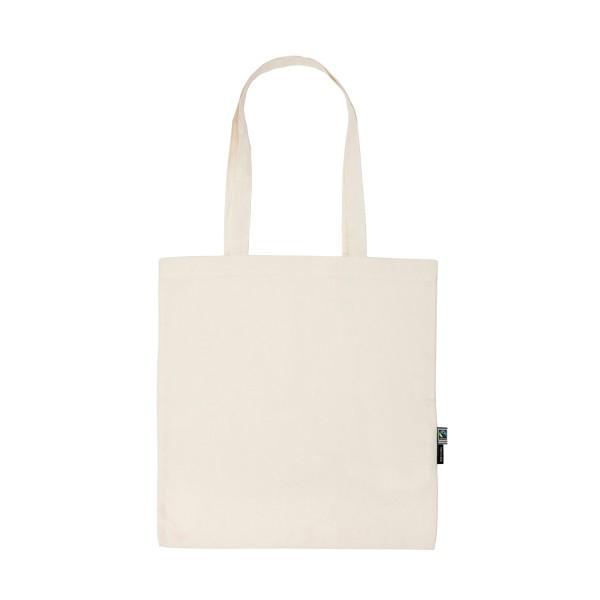 Organic Fairtrade Shopping Bag Long Handles Neutral®