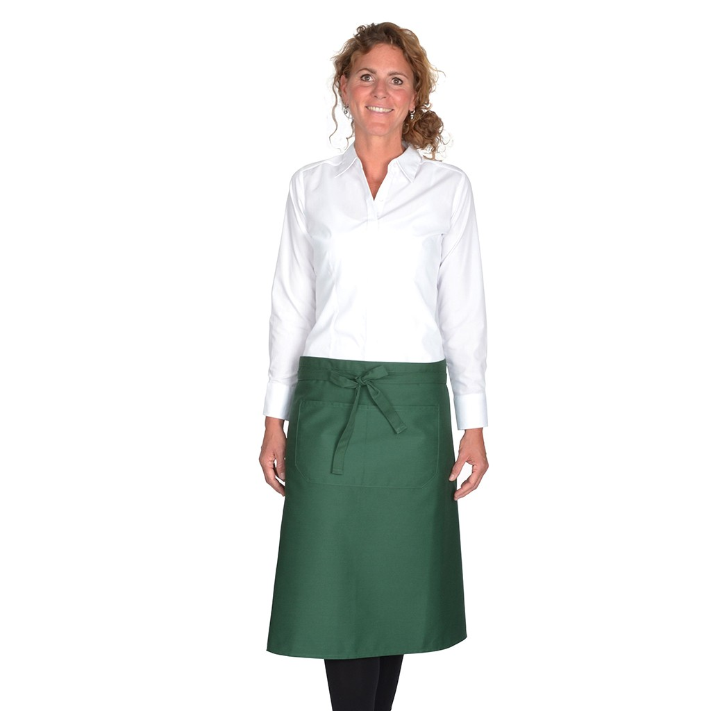 Kochschürze mit Fronttasche Premium Link® | bedrucken, besticken, bedrucken lassen, besticken lassen, mit Logo |