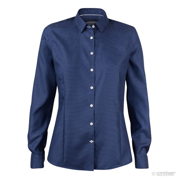 Moderne Bluse Purple Bow 49 Navy J. Harvest & Frost®