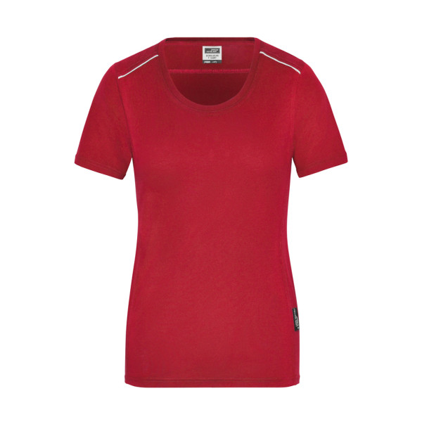 Ladies Workwear T-Shirt Organic Cotton Solid James & Nicholson®
