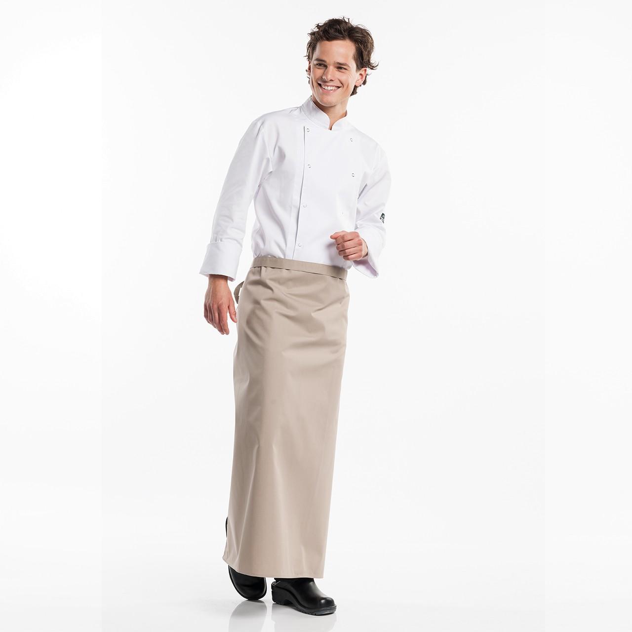 Bistroschürze Regular ohne Tasche Chaud Devant® | bedrucken, besticken, bedrucken lassen, besticken lassen, mit Logo |