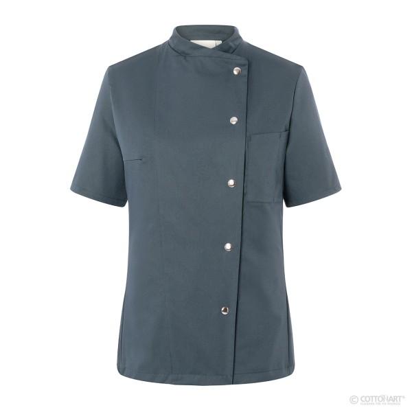 Ladies' chef's jacket Greta short-sleeved with snap fasteners Karlowsky®.