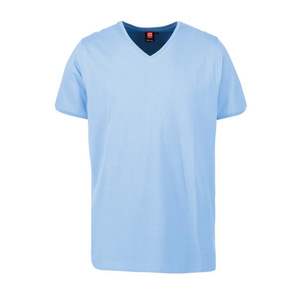 Herren Arbeits T-Shirt V-Kragen CARE ID Identity®