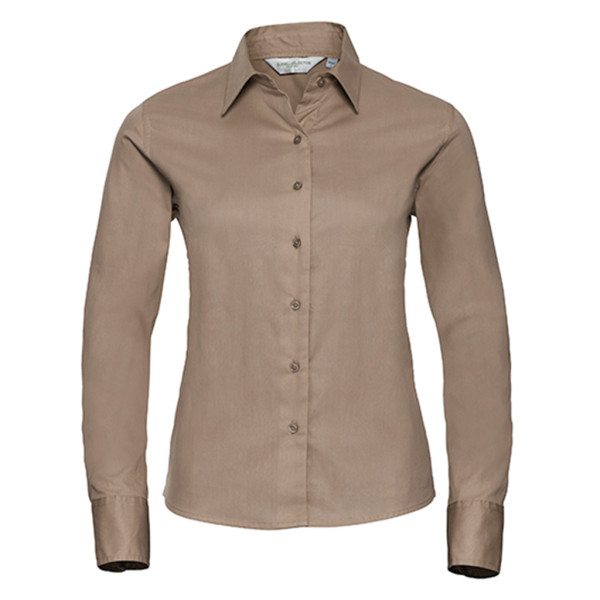 Twill blouse long sleeve Regular Fit Russell®