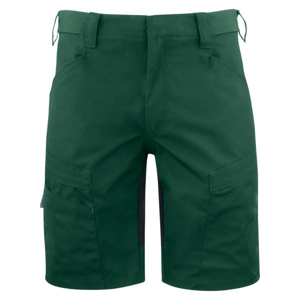 Arbeits-Shorts Stretch mit Taschen und Schlaufen Projob® forestgreen