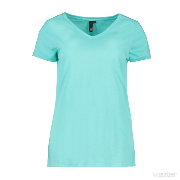 Core V-Neck Tee Damen T-Shirt Identity®