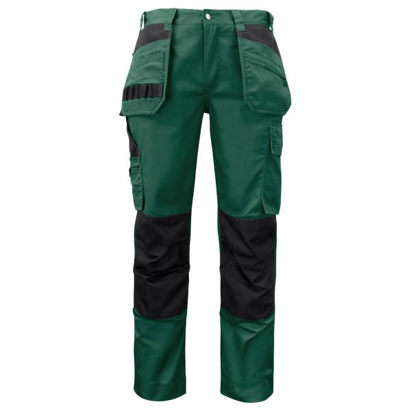 Arbeitshose mit Halftertasche Projob® forest green