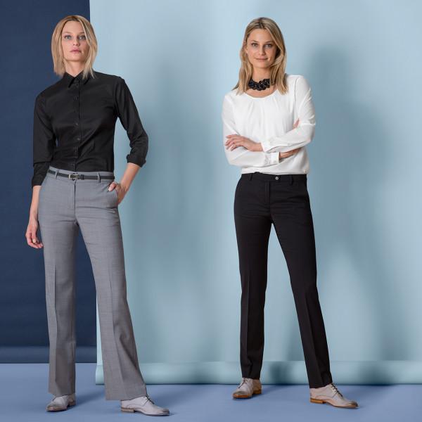 Damen Hose Normale Leibhöhe Modern Regular Fit Greiff®