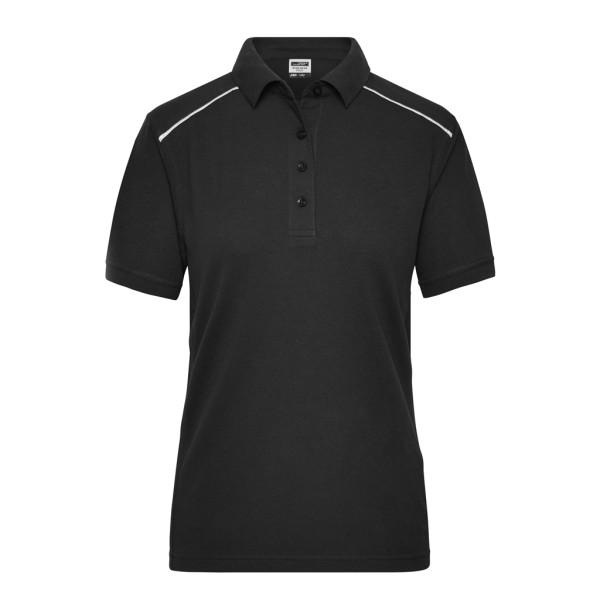 Damen Workwear Polo Materialmix James & Nicholson®