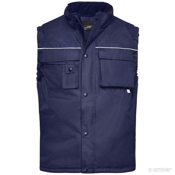 Workwear Weste James & Nicholson®