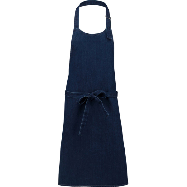 Jeans sommelier apron without pocket Denim Kariban®