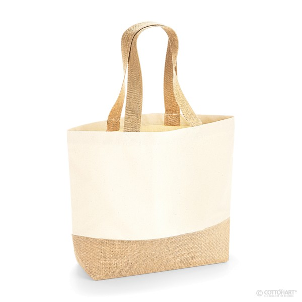 Canvas Jute Tasche Westford Mill®