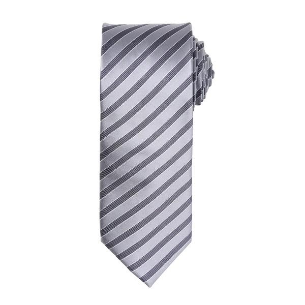 Krawatte mit zweifarbigen Streifen Premier®