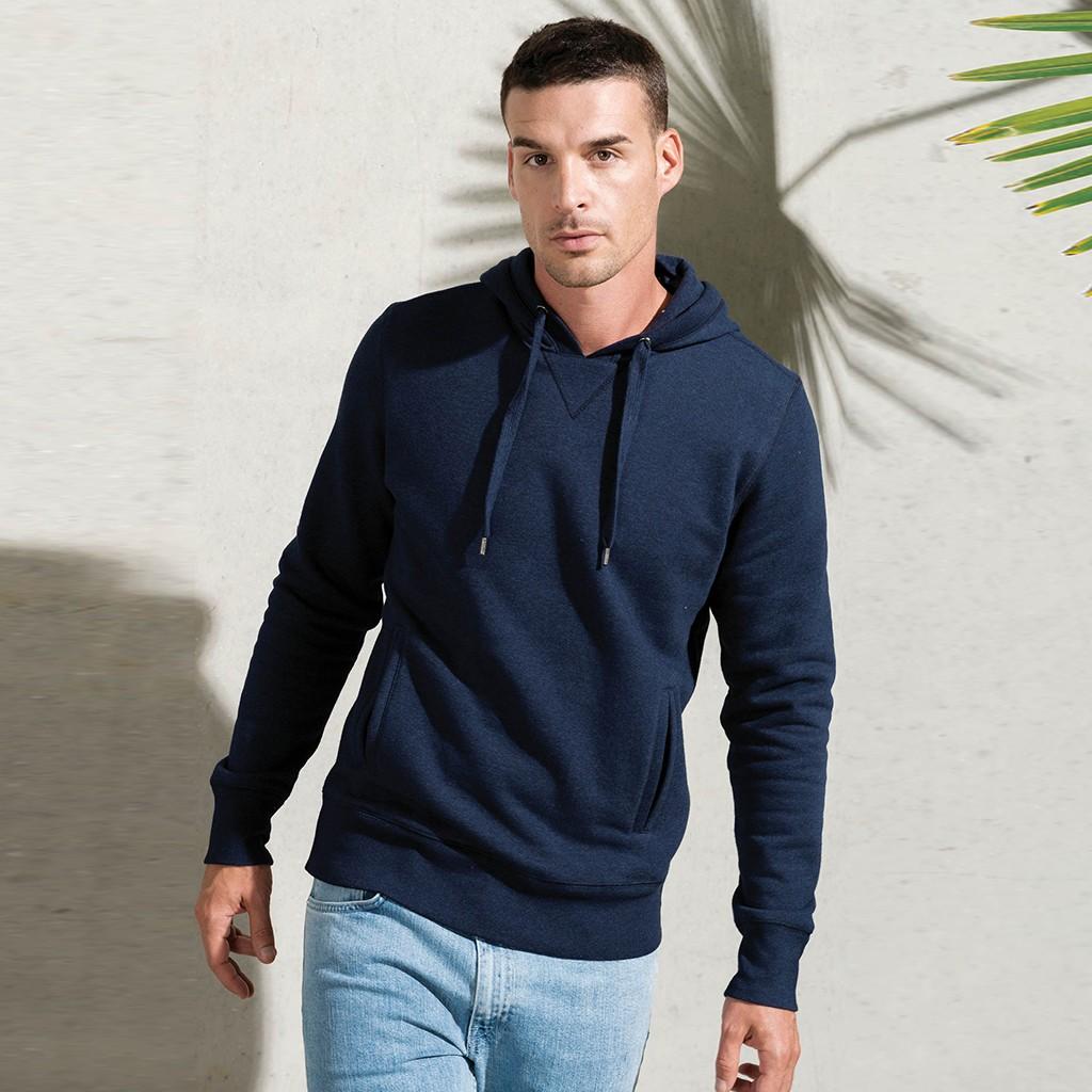 Herren Hoody Bio-Baumwolle Kariban® | bedrucken, besticken, bedrucken lassen, besticken lassen, mit Logo |