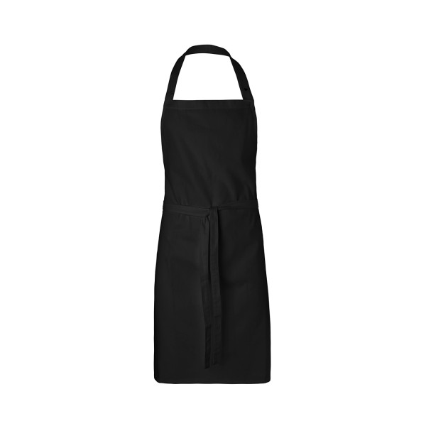Fairtrade Latzschürze ohne Tasche aus BIO Baumwolle NEUTRAL®