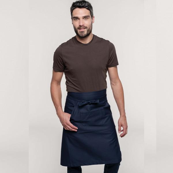 Bar apron knee-length Kariban®
