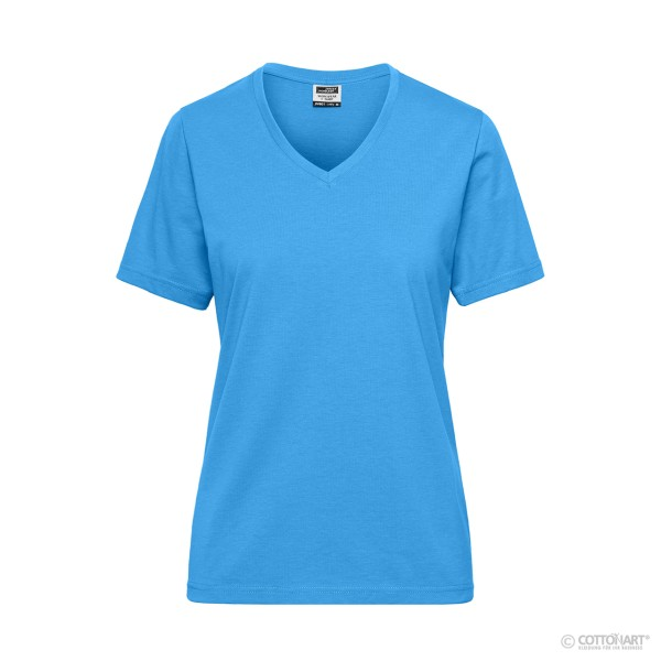 Damen BIO Workwear T-Shirt James & Nicholson®