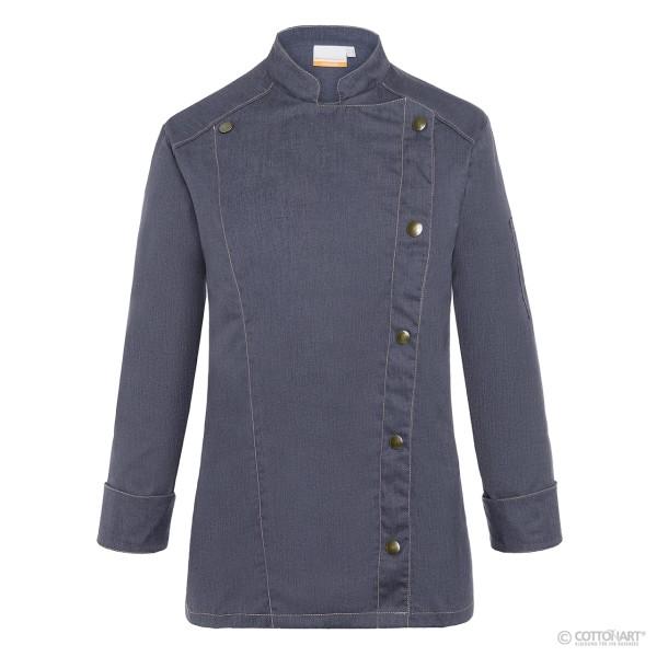 Damen Kochjacke Jeans-Style Karlowsky®