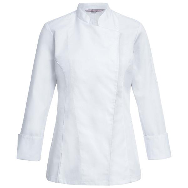 Basic Damen-Kochjacke mit verdeckten Druckknöpfen Greiff®