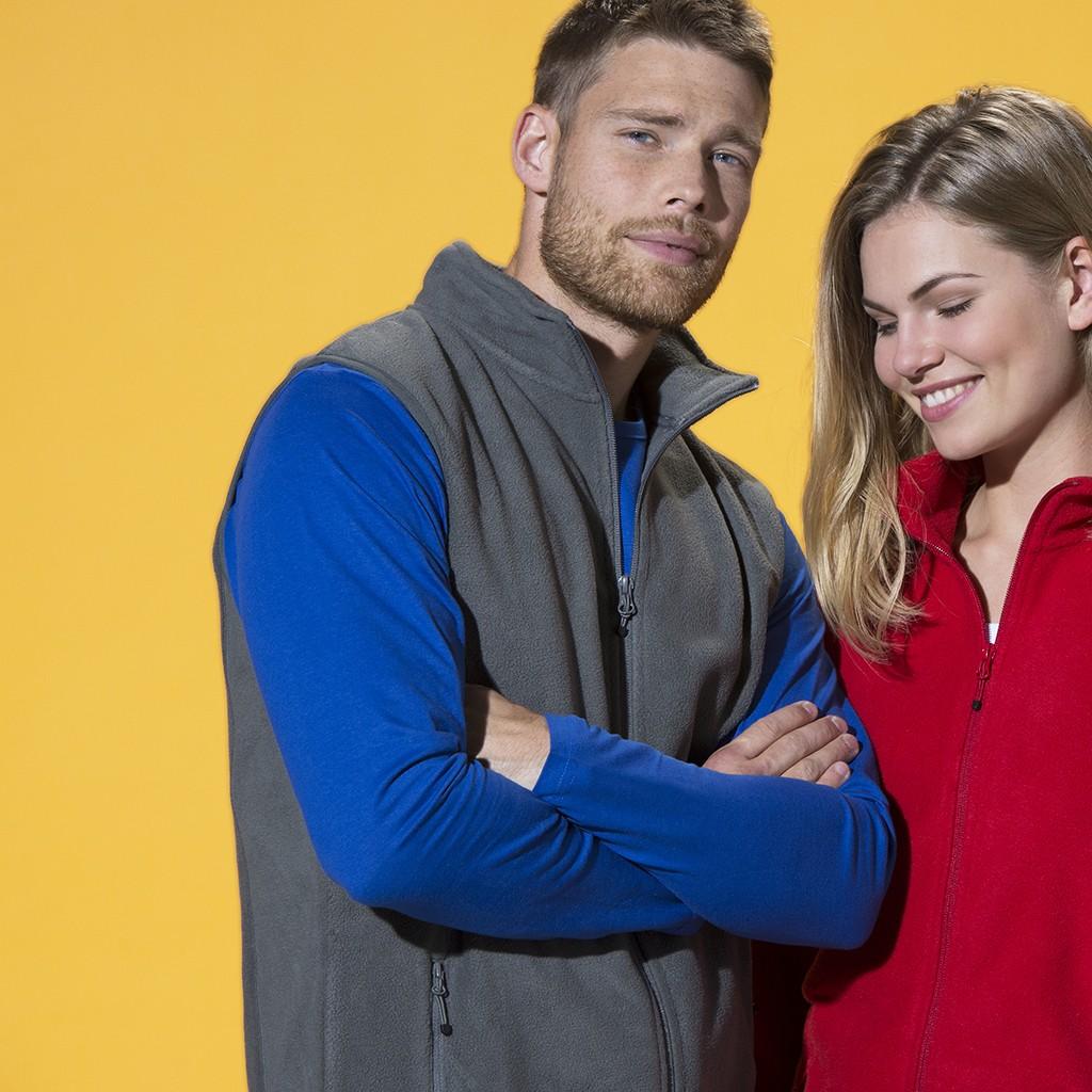 Herren Outdoor Fleece-Weste Basic Clique® | bedrucken, besticken, bedrucken lassen, besticken lassen, mit Logo |