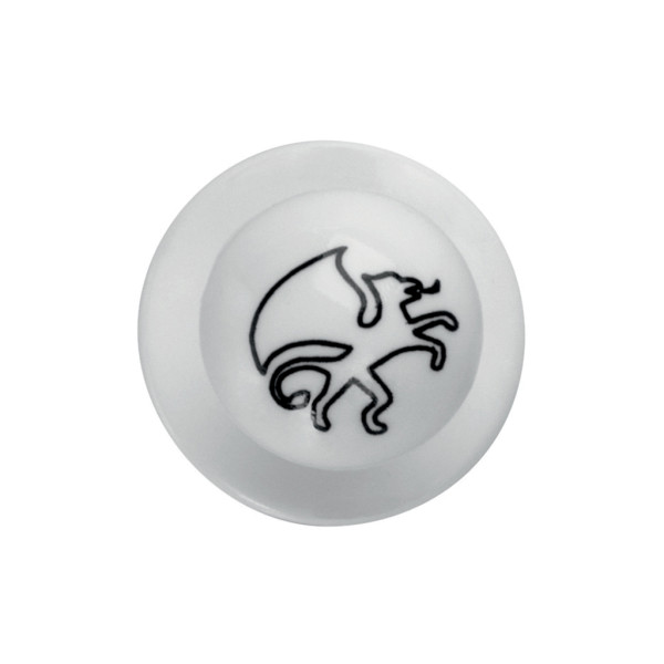 Ball knobs Greifflogo-White 12 pack Greiff®