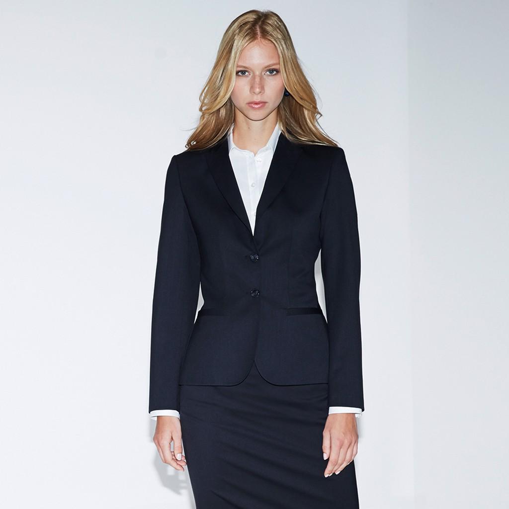 Damen Blazer Modern Slim Fit Greiff® | bedrucken, besticken, bedrucken lassen, besticken lassen, mit Logo |